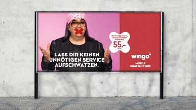Wingo: Launch-Kampagne «Mobile»